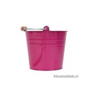 Metalen kinderemmer Roze - Talen Tools