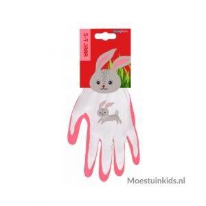 Tuinhandschoenen konijn, 5 t/m 7 jaar - Talen Tools
