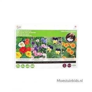 Eetbare bloemen zaadmatjes, super eenvoudig zaaien! - Buzzy